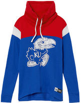 Victoria's Secret Victorias Secret University Of Kansas Cowl Pullover