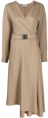 Brunello Cucinelli Belted Dress