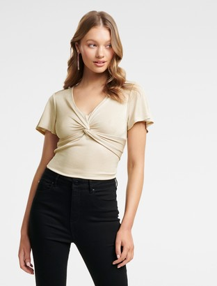 Ever New Blaire Twist Front Top