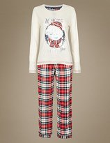 Tatty Teddy Tatty TeddyTM Checked Long Sleeve Pyjamas