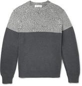 Brunello Cucinelli - Two-tone Cotton Sweater