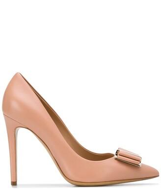 Salvatore Ferragamo Double Bow Pump Shoe