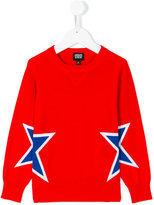 Armani Junior star knit top - kids - Cotton - 5 yrs