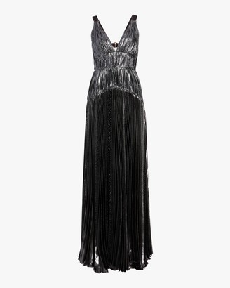 Maria Lucia Hohan Ayana Vneck Sleeveless Gown