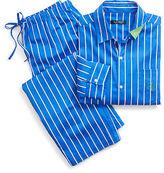 Ralph Lauren Stripe Cotton Sateen Sleep Set