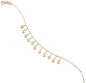 Bondeye Jewelry Droplet White Sapphire Bracelet
