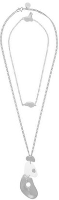 Misho - Pebble Sterling-silver Choker & Pendant Necklaces - Womens - Silver