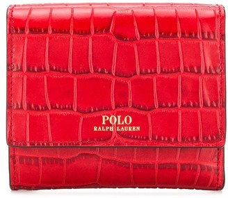 Polo Ralph Lauren croc effect purse