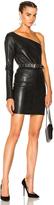 RtA Diana Leather Dress