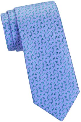 Charvet Sanded Waves Silk Tie