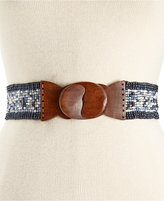 INC International Concepts Multi Beaded Stretch Belt, Only at Macy's