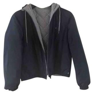 Petit Bateau Blue Coat for Women