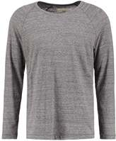 Folk Nep Long Sleeved Top Grey Melange