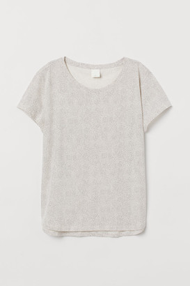H&M Cotton T-shirt - White