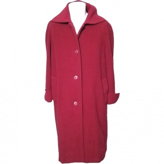 Byblos Red Wool Coats