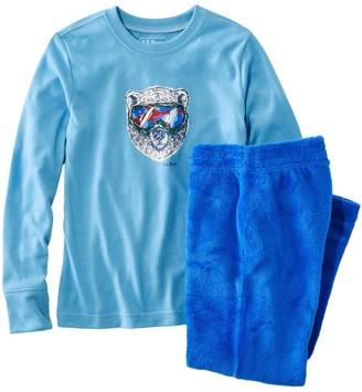 L.L. Bean Kids' L.L.Bean Cozy Fleece Pajamas