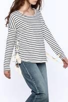 Vintage Havana Stripe Print Sweatshirt
