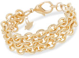 Brahmin Smooth Twisted Layered Chain Bracelet Providence