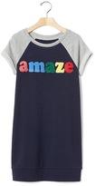 Gap Amaze sweatshirt dress
