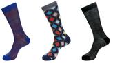 Jared Lang Web and Diamond Socks (3 PK)