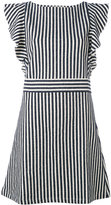 MAISON KITSUNÉ striped dress - women - Cotton/Polyamide - S