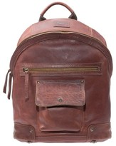 Will Leather Goods Men's 'Silas' Backpack - Metallic