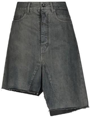 Rick Owens Denim skirt