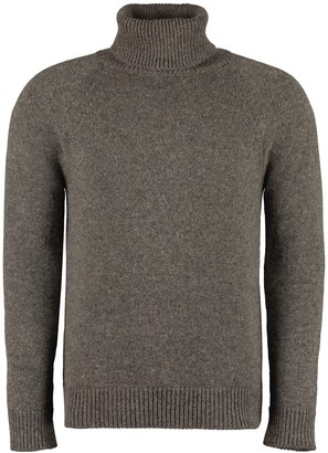 Saint Laurent Camel-wool Turtleneck Sweater