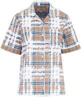 Burberry Graffiti Check Shirt