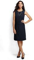 Lands' End Women's Wear to Work Sheath Dress-Black