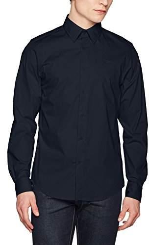 G Star Men's Core Shirt L/s Casual (Legion Blue 862), XX-Large