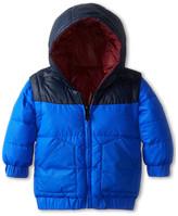 Little Marc Jacobs Reversible Puffer Jacket (Infant)