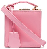 Natasha Zinko pink patent leather box bag