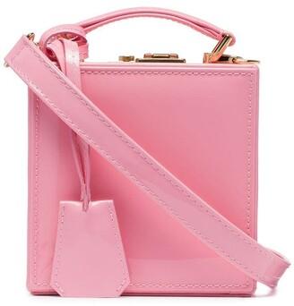 Natasha Zinko Pink Patent Leather Box Bag
