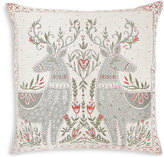 Marks and Spencer Mirrored Reindeer Cushion
