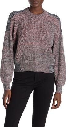 Joie Fernlea Marled Dolman Crop Sweater