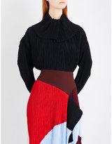Roksanda Garland chiffon and crepe blouse