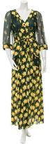 Anna Sui Printed Maxi Dress w/ Tags
