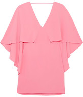 Halston Crepe Mini Dress - Pink