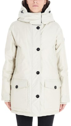 Woolrich Checked Hooded Reversible Parka