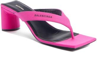 Balenciaga Square Toe Sandal