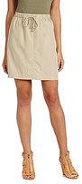 Vince Camuto Drawstring Skirt