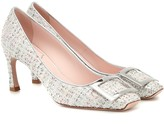Roger Vivier Belle Vivier Trompette tweed pumps