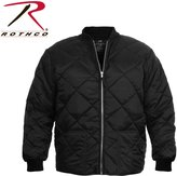 Rothco Diamond Nylon Quilted Flight Jacket,