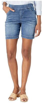Jag Jeans 8 Gracie Pull-On Shorts in Denim (Mission) Women's Shorts