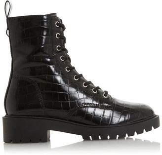 Head Over Heels Riana Lace Up Worker Boots