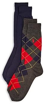 Polo Ralph Lauren Dress Socks - Pack of 2