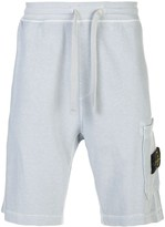 Stone Island mid-rise sweat shorts