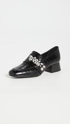 Freda Salvador Blossom Jewels Heeled Loafers