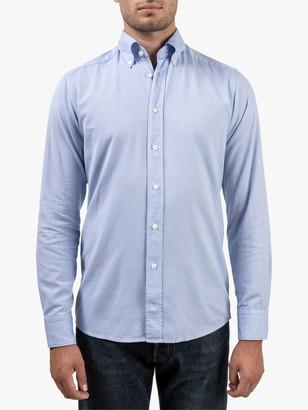 Eton Soft Cotton Slim Fit Oxford Shirt